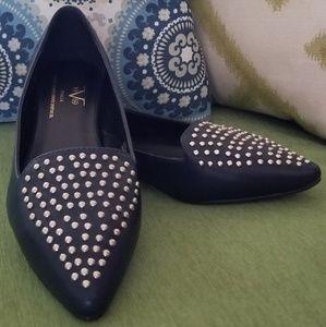 Versace 19V69 studded toe flats
